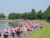 Nottingham biega dla życia 2016 obrazy stock