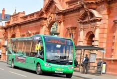 Nottingham bus station Stock Photo