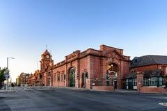 Nottingham drevstation royaltyfria bilder