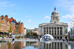 Nottingham, het UK royalty-vrije stock foto's