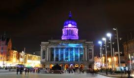 Nottingham, het UK stock afbeelding