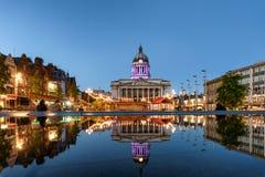 Nottingham het UK Stock Afbeelding