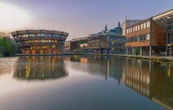 Nottingham i England - Europa arkivbild