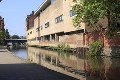 Nottingham-Kanal Stockbilder