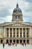 Nottingham market square with council house.  Stock Images