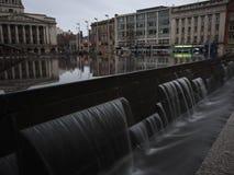 Nottingham miasta ujawnienia długa fotografia fotografia royalty free