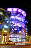 Nottingham by night Stock Photos