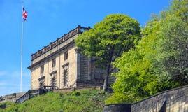 Nottingham-Schloss Stockbild