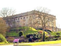 Nottingham slott. arkivfoto