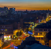 Nottingham-Stadtzentrum Lizenzfreie Stockbilder
