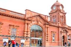 Nottingham train station Stock Image