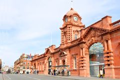 Nottingham train station Royalty Free Stock Photography