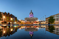 Nottingham UK stock image