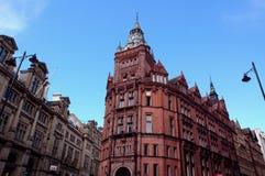 Nottingham wielkiej brytanii ostrożnościowych budynku. fotografia stock