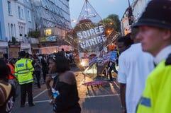 Nottinghill狂欢节2 库存图片
