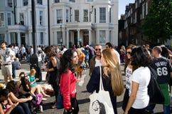 Nottings Hill karneval i västra London, UK Royaltyfri Bild