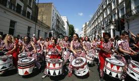 Nottingsheuvel Carnaval, 2013 Stock Fotografie