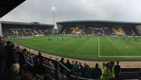 Notts County v Coventry City Royalty Free Stock Photography