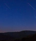 Noturno das inclinações do esqui do La Molina Imagens de Stock Royalty Free