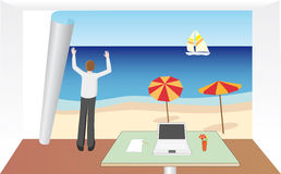 Notwendigkeit am Feiertag Lizenzfreie Stockbilder