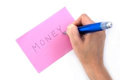 Notwendigkeits-Geld Stockfotos