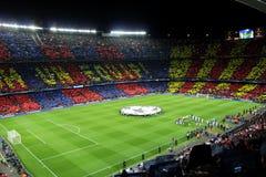 巴塞罗那足球俱乐部 免版税库存图片