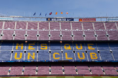 The Nou Camp, Barcelona Royalty Free Stock Photo