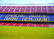 Nou camp Royalty Free Stock Image