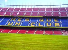 Nou camp. Stadio nou camp in Barcelona - Catalunia, Spain Royalty Free Stock Image