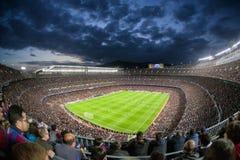 Nou Camp - stadioum of FC Barcelona, Spain Royalty Free Stock Image