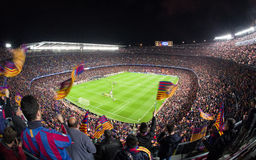 Nou Camp - stadioum of FC Barcelona, Spain Royalty Free Stock Photo