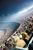 Nou Camp Stadium. In Barcelona, start of the football season in Spain and all over Europe Royalty Free Stock Photos