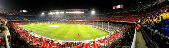 Nou camp stadium Royalty Free Stock Photo