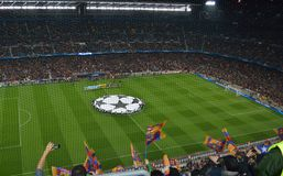 Nou Camp Stadium Royalty Free Stock Image