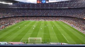 Nou Camp stadium royalty free stock images