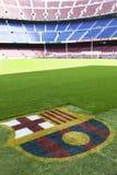 Nou Lager - Fc Barcelona Stadiondetail Stockfoto