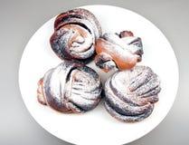 nougat κέικ Στοκ Εικόνες