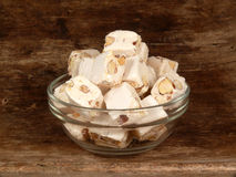 Nougat Royalty Free Stock Photos