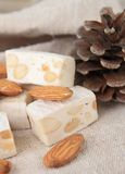 Nougat Royalty Free Stock Images