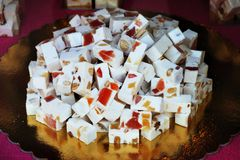 Nougat from Antwerp Royalty Free Stock Photos