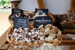 Nougat Royalty Free Stock Photo