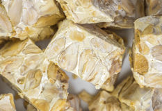 Nougat - Broken pieces Stock Photography