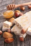 Nougat Stock Photos