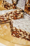Nougat of confectioneries made Stock Image