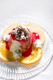 Nougat cream Royalty Free Stock Photo