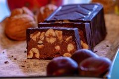 Nougat, dessert napoletano immagine stock