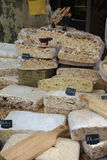 Nougat on a French market in Bedoin Stock Photography