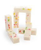 Nougat isolated Stock Image