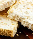 Nougat slices Stock Photography