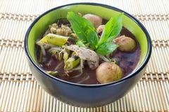 Nouille de nourriture thaïlandaise traditionnelle images stock